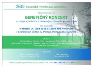 Benefičný koncert SMyS